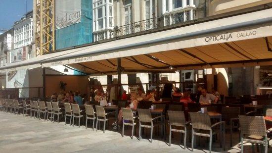 Terraza Picture Of Cafe Del Centro Lugo Tripadvisor