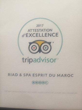 Riad & Spa Esprit du Maroc: Merci à vous tous nos chers clients pour votre soutien