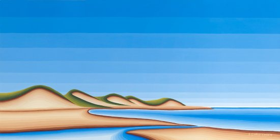 "Cymbria, Canada: My painting ""The Dunes PEI"""