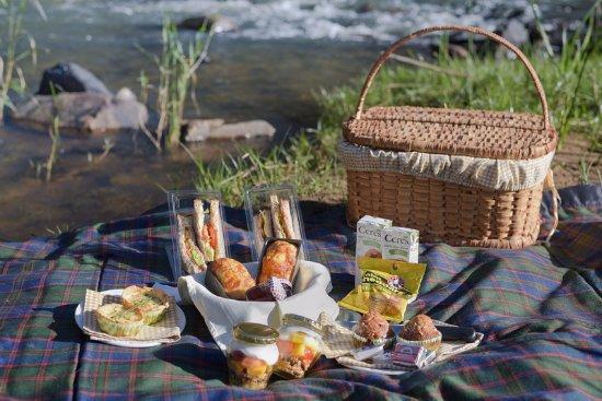 Lydenburg, South Africa: Breakfast basket