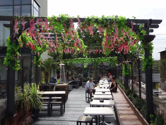 Proud Camden: Roof Gardens (with Waterfall)