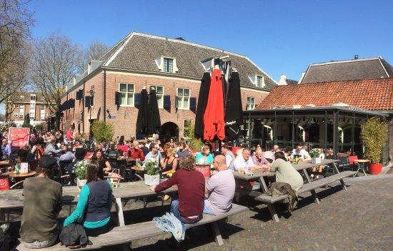 Woerden, Países Baixos: Ons terras in het voorjaar