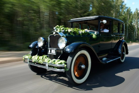Harju County, Estonia: You may rent an old car with a driver to your wedding or just for a ride in Tallinn Old Town