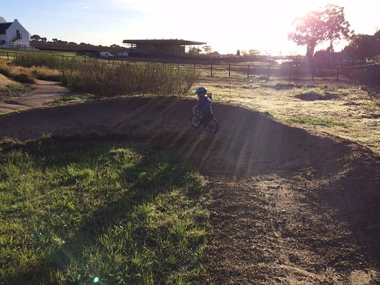 Constantia, Zuid-Afrika: Great berms, even for toddlers
