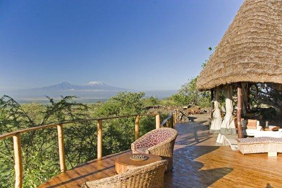 Campi ya Kanzi: Kilimanjaro dominates our 283,000 acres Maasai paradise