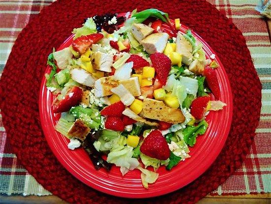 Kernersville, NC: Strawberry Mango Chicken Salad...full size.