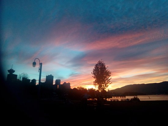 Vancouver, Canada: Sunset at Crab Park