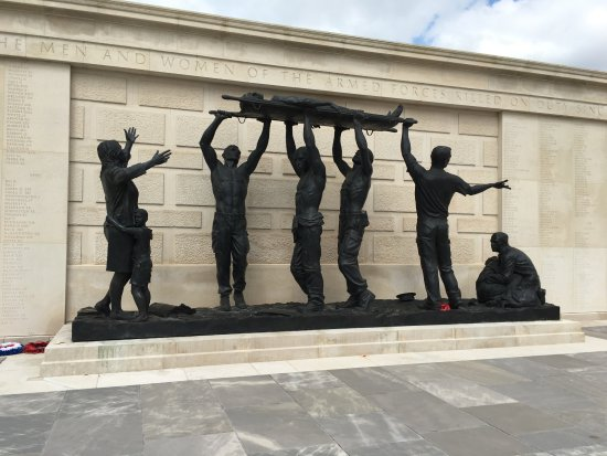 Lichfield, UK: Armed Forces Memorial
