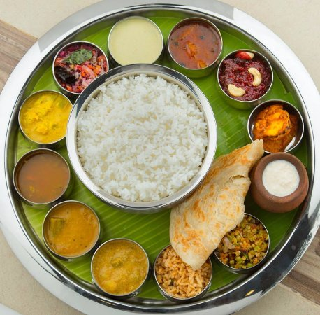 South Indian Meals Picture Of Rajwadi Veg Restaurant Egmore