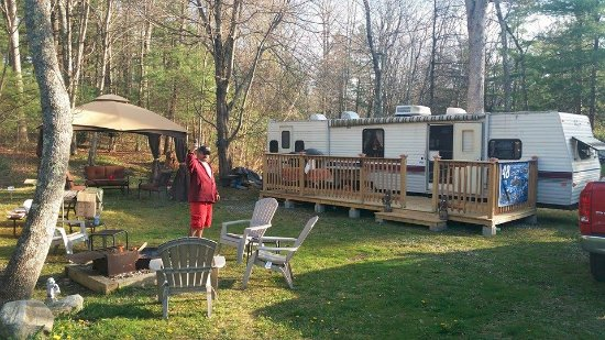 Killingly, CT: Here is our site at Stateline - Picture from our first season in 2016 when we first set up