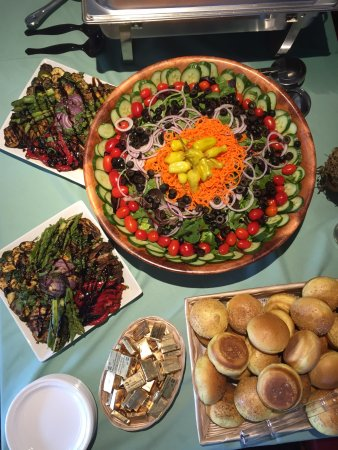 Old Tappan, NJ: Food ata catered event