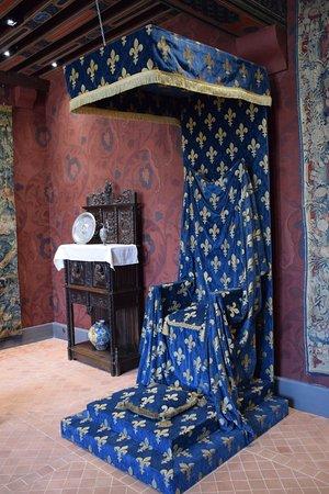 Blois, France : Un trône de conte de Fée