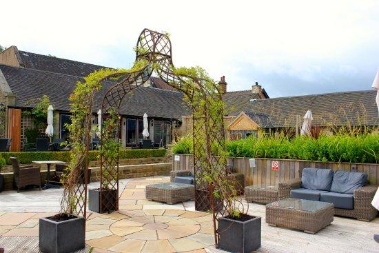 Leek, UK: Hotel terrace