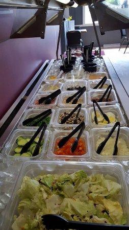 Antigo, WI: Salad Bar