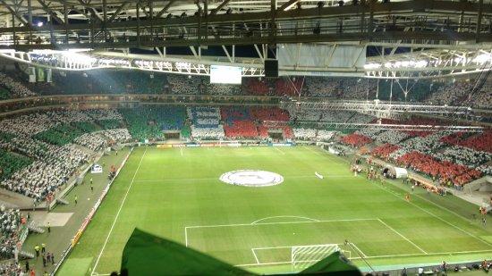 Mosaico da Torcida do Palmeiras em dia de Jogo.. - Foto de Allianz ... 5132a103f3d1e