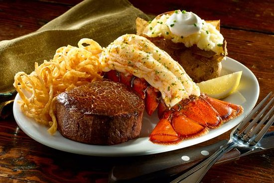 Steak and Lobster!