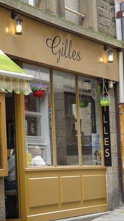 Gilles: le restaurant