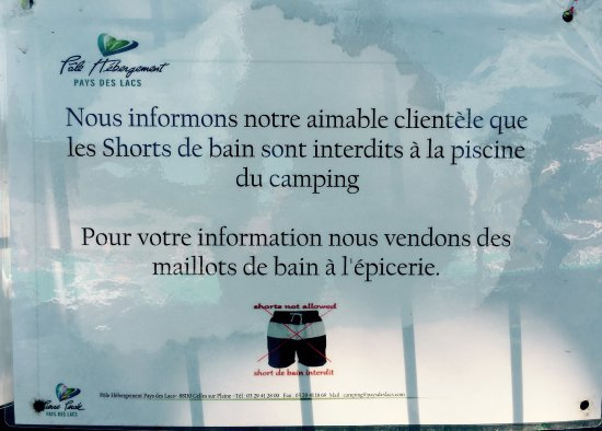 Celles-sur-Plaine, Francia: Camping des Lacs