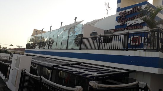 Palm-Mar, Spanien: Vue d'en bas