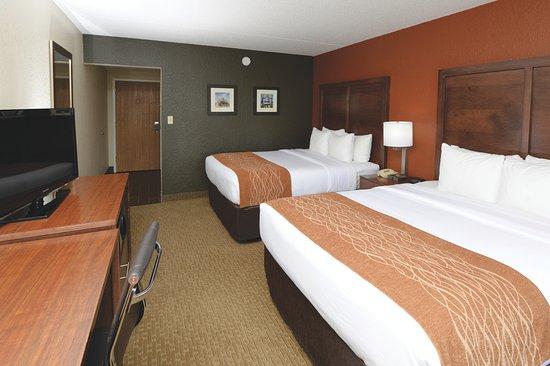 Comfort Inn & Suites Event Center: Standard Double Queen Room