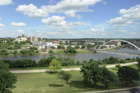 Comfort Inn & Suites Event Center: View from Riverside Rooms
