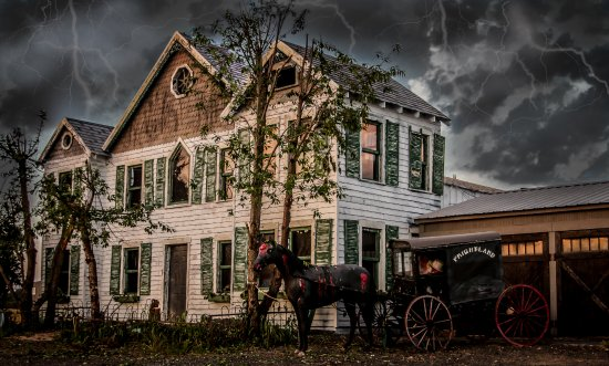 Idalia Manor at Frightland Haunted Attractions in Middletown Delaware