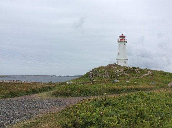 Louisbourg, Canada: Le plus vieux phare du Canada.