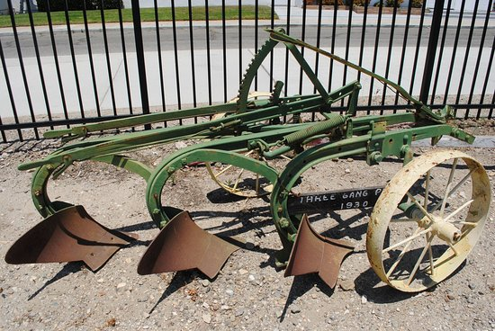 Museum of Ventura County - Agriculture Museum: One of the many farming implements on display outside.