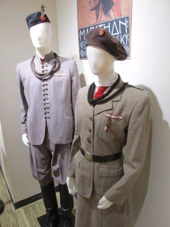 Cedar Rapids, IA: Uniforms, Sokol exhibit