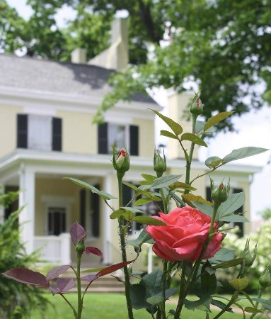 """Princeton, KY: Our gardens welcome you to come """"sit a spell"""" and enjoy your surroundings."""