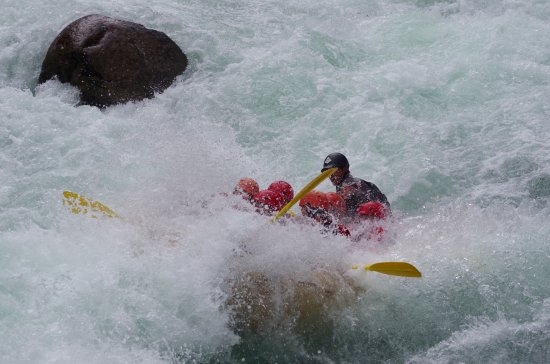 North Bend, Canadá: Rafting on the Nahatlatch River