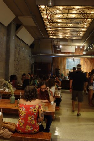 Asbury Park, NJ: A busy summer night at Capitoline
