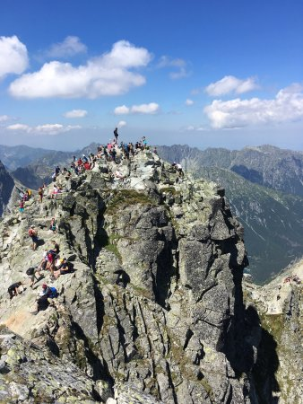 Tatra National Park, Polen: Poland's highest mountain peak... mount Rysy