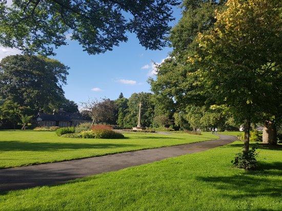 Bingley, UK: park