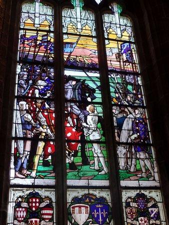 Vitraux Photo De Eglise De Saint Ronan Locronan