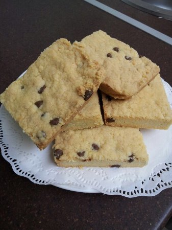 Rothley, UK: Chocolate chip shortbread