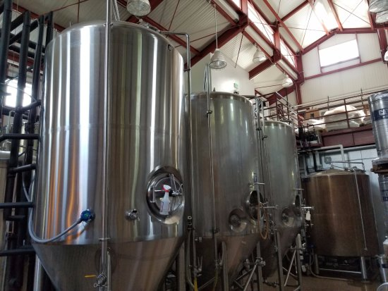 Livingston Manor, Estado de Nueva York: the beer vats, in the barn