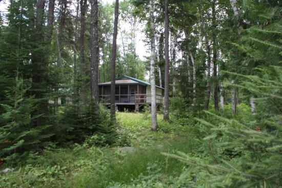 Fort Frances, Canada: cabin