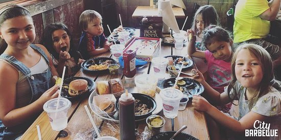 City Barbeque: Kids love BBQ!