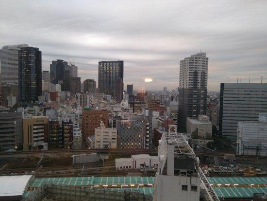 APA Hotel Shinjuku Kabukicho Tower: Vistas desde la habitación