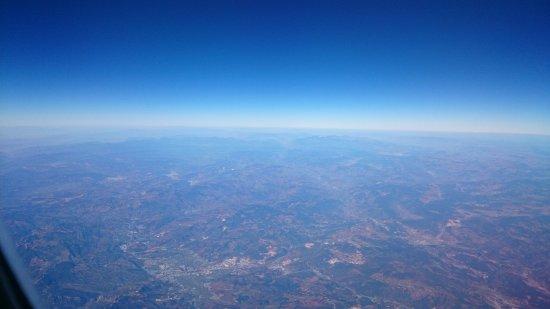 Turkish Airlines: wonderful view
