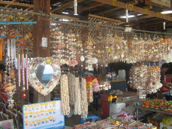 Pattaya Sheep Farm: Ракушечные украшения