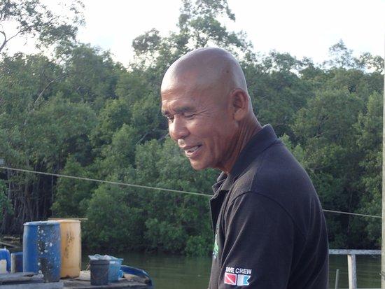 Sipadan Mangrove Resort: Boot-Kapitän