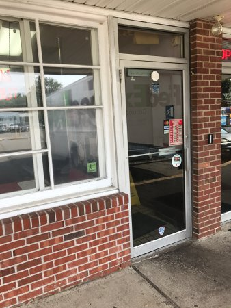 Lambertville, Nueva Jersey: Front door