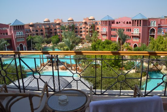 The Grand Resort Hurghada: This is the view from room 5216.