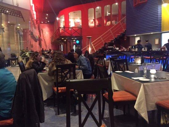 San Francisco de Mostazal, Chile: vista general del comedor