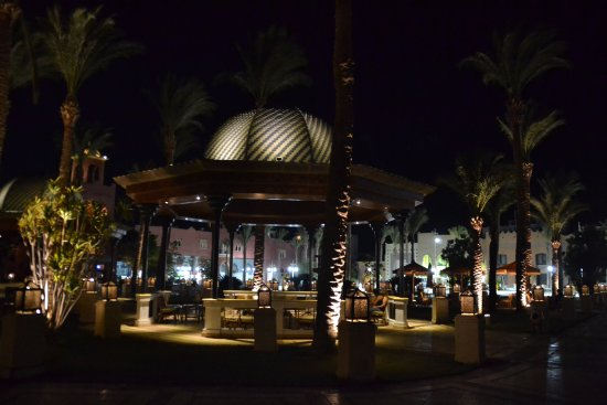 The Grand Resort Hurghada: Seating area at front of resort.