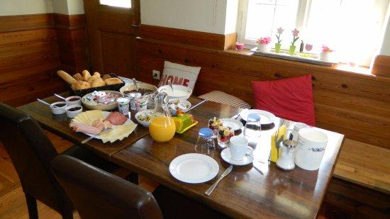 Bed and Breakfast Yuka: Als enige gast een specialleke gekregen als ontbijt