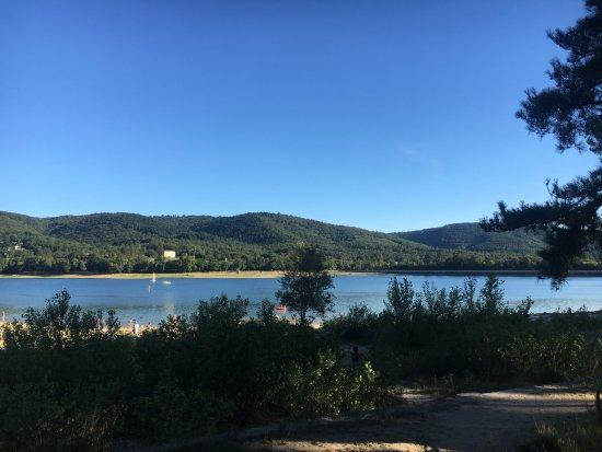 Lac de Saint-Ferréol: Le lac