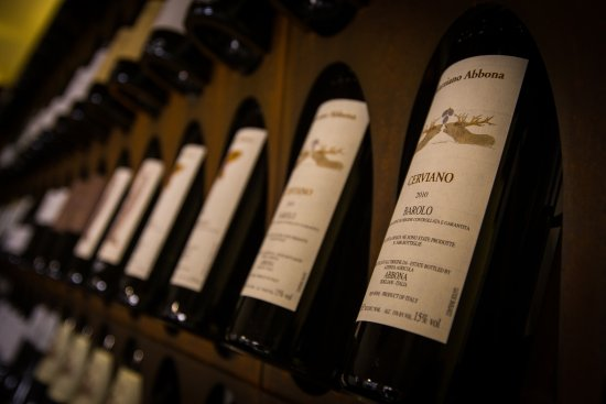 In Vinis Veritas: Vista interna sulla biblioteca del vino.